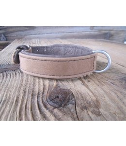 Lueti - Pilatus Hundehalsband Sand-Braun Pur