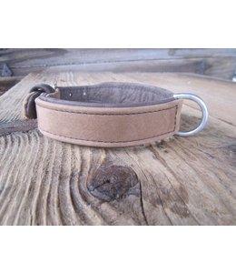 Pilatus Hundehalsband Sand-Braun Pur