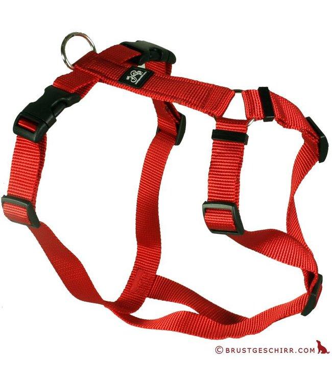 Feltmann - Hundegeschirr Rot - Brustgeschirr