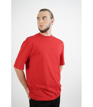 PICALDI Long Fit Shirt Red - Signature