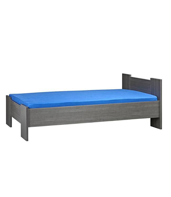 BEUK Bedframe 140X210 cm - Incl. Middenbalk - Zwart - Wouw