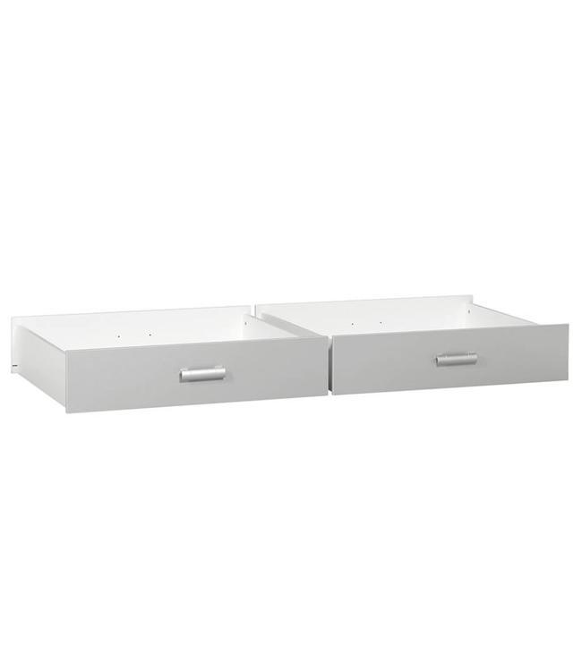 BEUK Ladenbakken aluminium (98cm breed) - set van 2 - 83cm diep