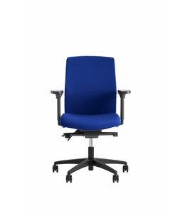 Beta Stoelen Bureaustoel | Be Noble - Middelhoge Rug - Blauw