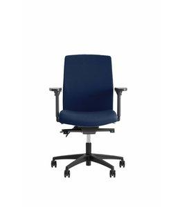 Beta Stoelen Bureaustoel | Be Noble - Middelhoge Rug - Donkerblauw