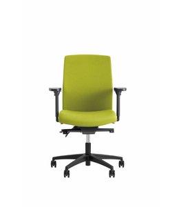 Beta Stoelen Bureaustoel | Be Noble - Middelhoge Rug - Groen