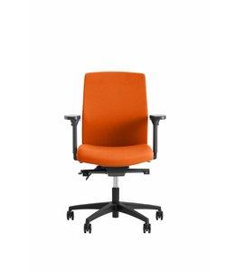 Beta Stoelen Be Noble - Middelhoge Rug - Oranje