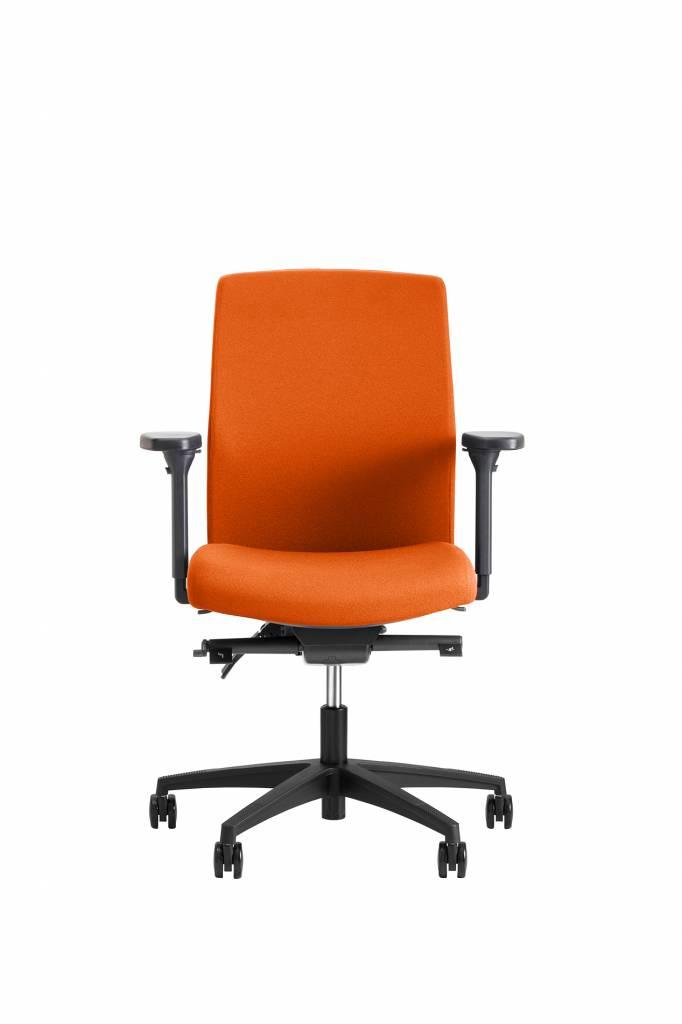 Beta Stoelen Bureaustoel | Be Noble - Middelhoge Rug - Oranje