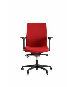 Beta Stoelen Bureaustoel | Be Noble - Middelhoge Rug - Rood