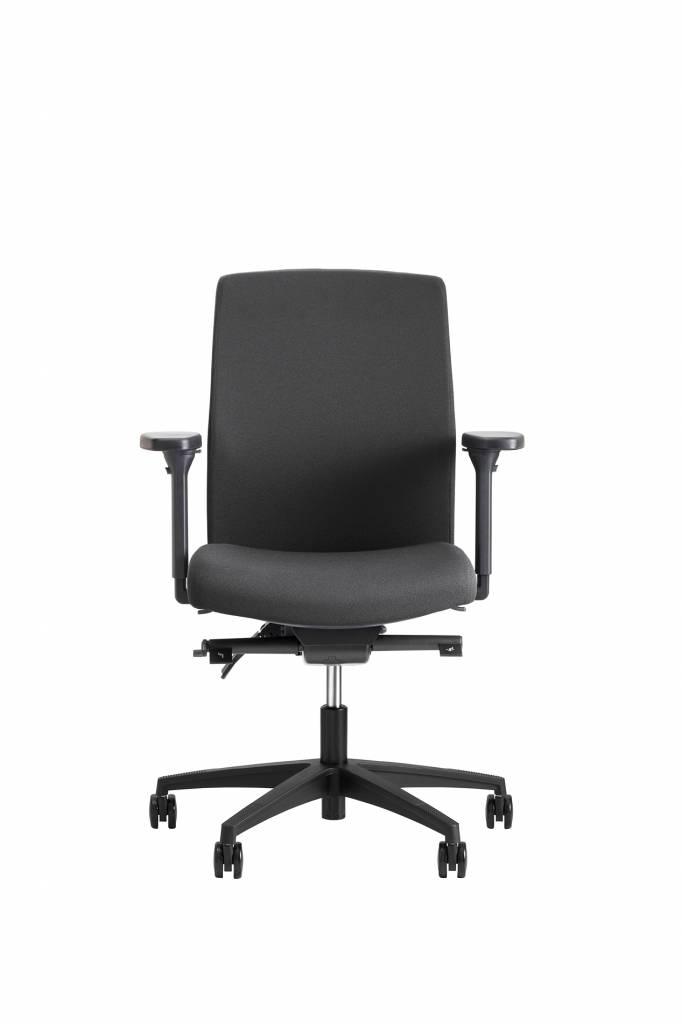 Beta Stoelen Bureaustoel | Be Noble - Middelhoge Rug - Grijs