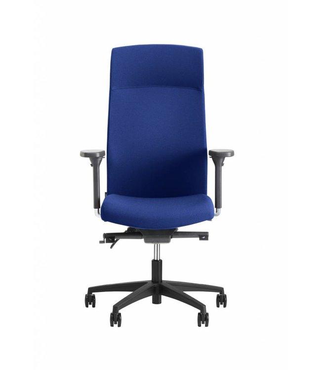 Beta Stoelen Bureaustoel | Be Noble - Hoge Rug - Blauw