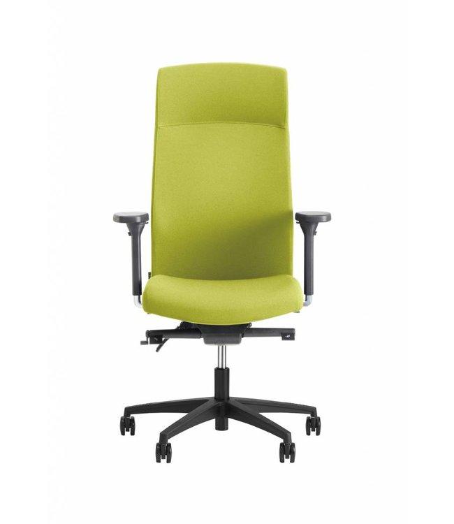 Beta Stoelen Bureaustoel | Be Noble - Hoge Rug - Groen