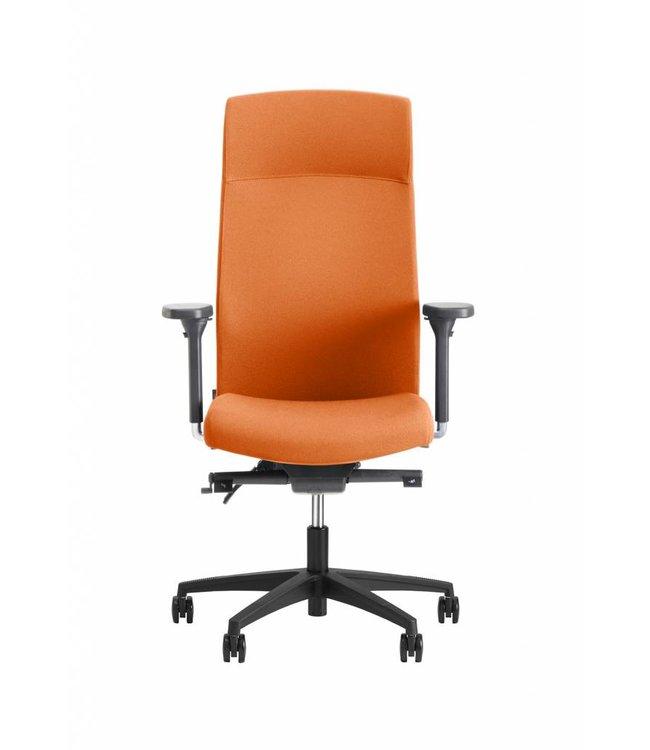 Beta Stoelen Bureaustoel | Be Noble - Hoge Rug - Oranje