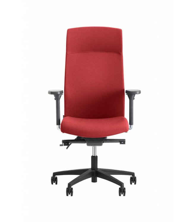 Beta Stoelen Bureaustoel | Be Noble - Hoge Rug - Rood
