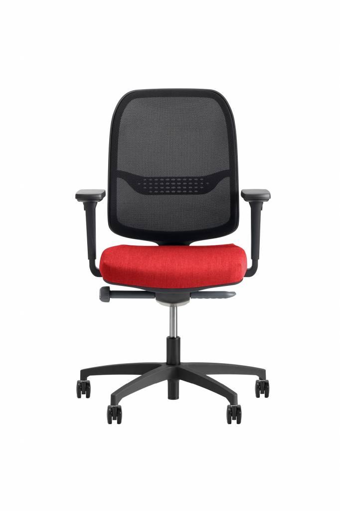 Beta Stoelen Bureaustoel | Be Fine - Rood
