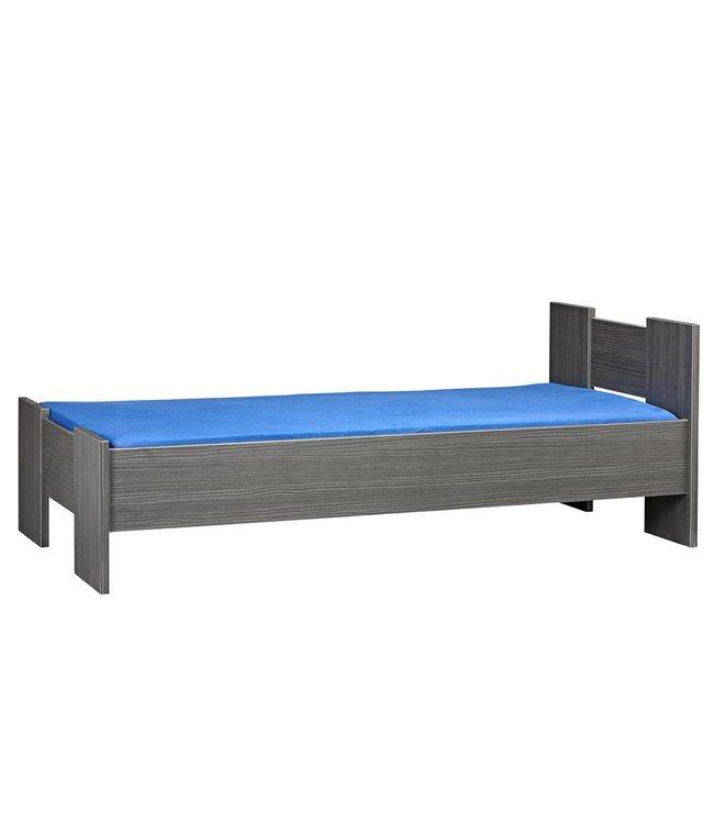 BEUK Bedframe 160X200 cm - incl middenbalk - Zwart - Wouw