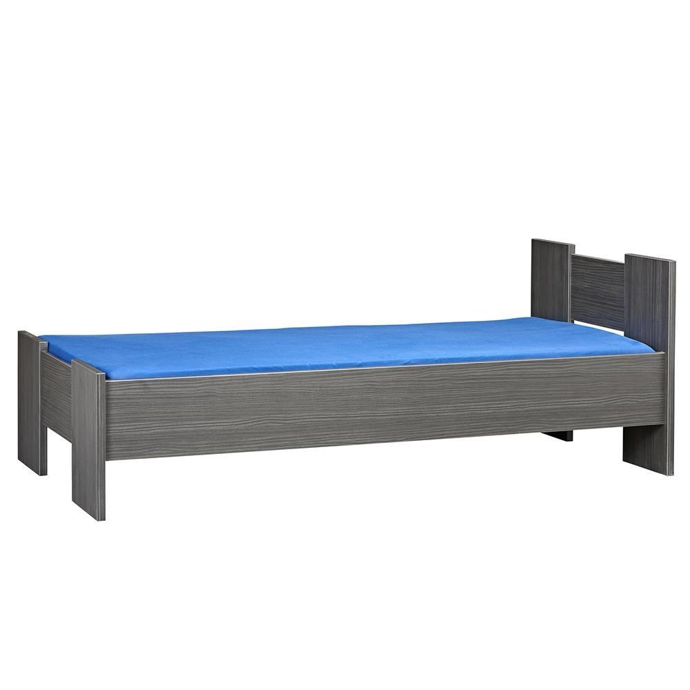 BEUK Bedframe 160X210 cm - incl middenbalk - Zwart - Wouw