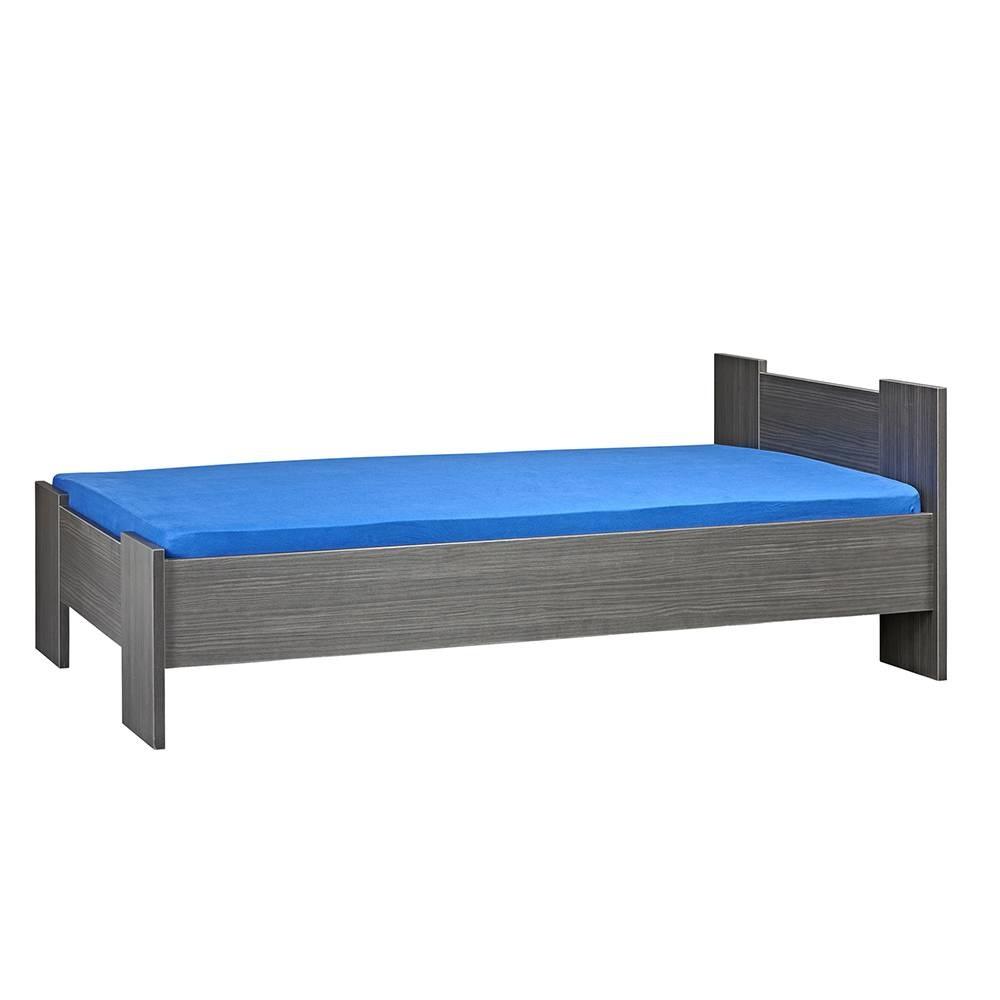 BEUK Bedframe 180X210 cm - Incl. Middenbalk - Zwart - Wouw