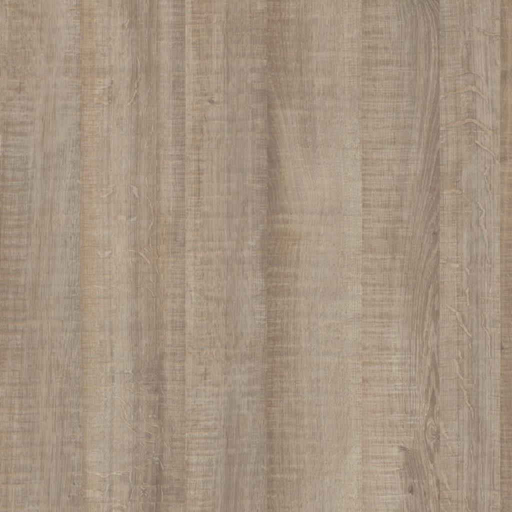 BEUK Bureautafel - Donker Grijs Hout - Alu Frame - 120x80