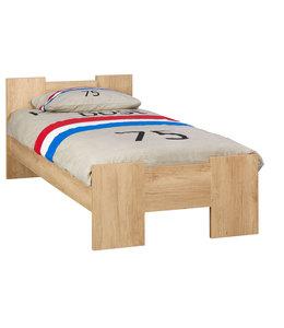 BEUK Bedframe 90X220 cm - Nebreska Eiken - Wouw