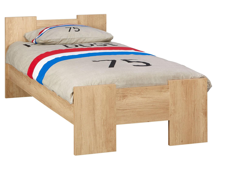 BEUK Bedframe 90X210 cm - Nebreska Eiken - Wouw