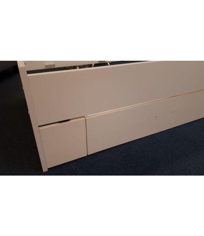 Tussenstuk Bed - wit - t.b.v. vulling laden - 210 cm