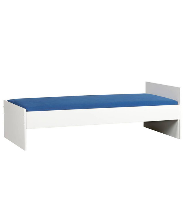 BEUK Bedframe 90X220 cm  - Wit - Effen
