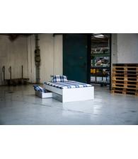 BEUK Bed met opbergruimte | 180x200 | Wit | Inclusief aluminium lades | 4 stuks 60cm diep