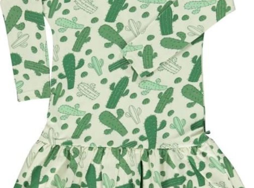Smafolk Dress LS. + skirt. Cactus