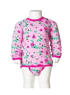 JNY JNY Romper Body Ladybug pink