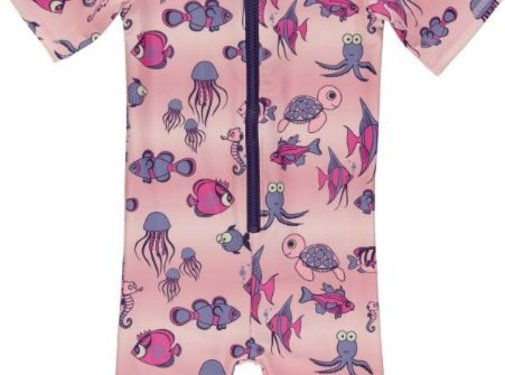 Smafolk Smafolk Swimsuit, zwempak SL. Fishes Pale Lilac