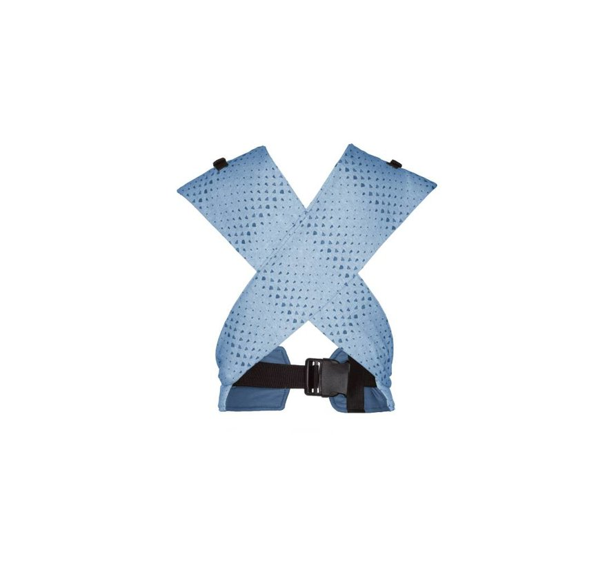 Snoozebaby Kiss & Carry Indigo Blue, baby carrier.