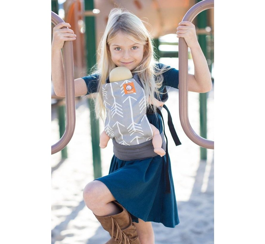 Tula toy doll carrier Archerdesign.