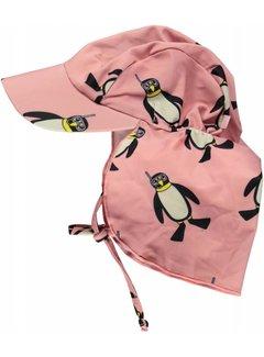 Smafolk Smafolk Swimwear, Sun cap. Penguins roze