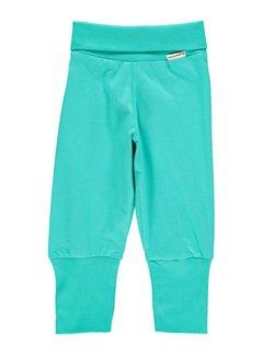Maxomorra Maxomorra Pants Rib Turquoise