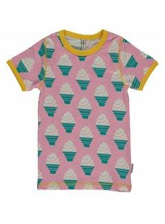 Maxomorra Maxomorra Shirt korte mouwen ICECREAM