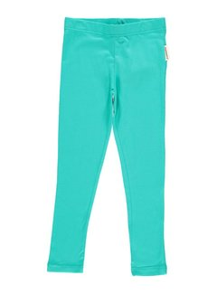 Maxomorra Maxomorra Leggings Turquoise