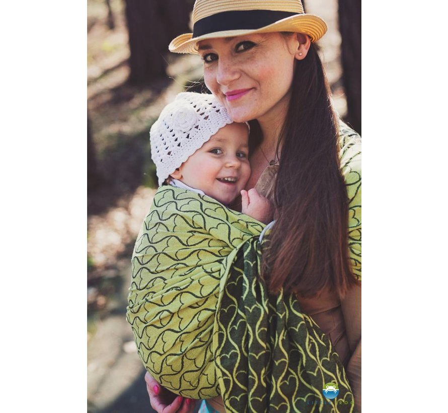 Little Frog Lemon Hourglasses  ring sling.