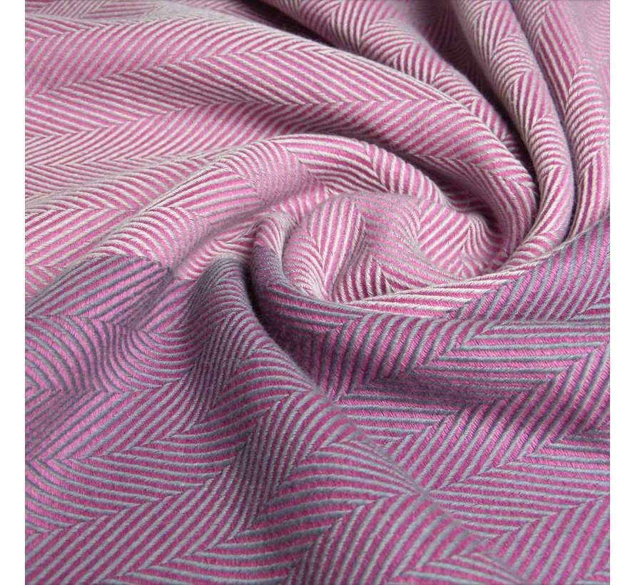 Didymos Lisca Flamingo Wool geweven draagdoek.
