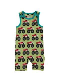 Maxomorra Playsuit Short MONSTER TRUCK