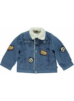 Smafolk DENIM jacket with patches