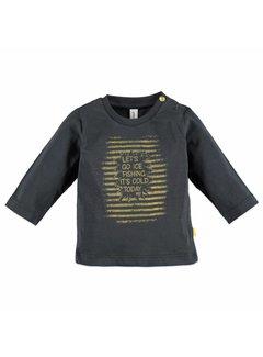 Babyface  Babyface baby boys t-shirt l.sl. GRAPHITE