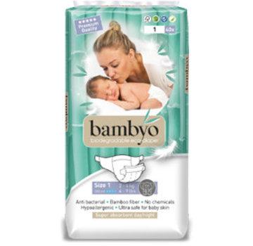 Bambyo Bambyo diapers size 1