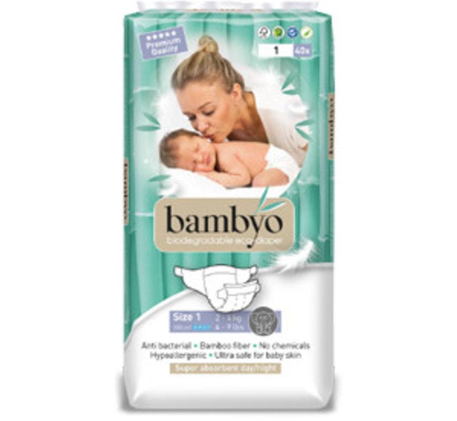 Bambyo luiers maat 1