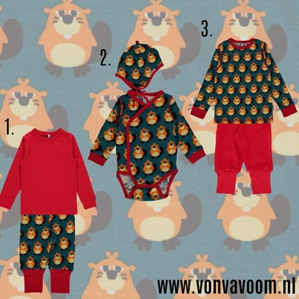 Maxomorra Beaver autumn collection 2017