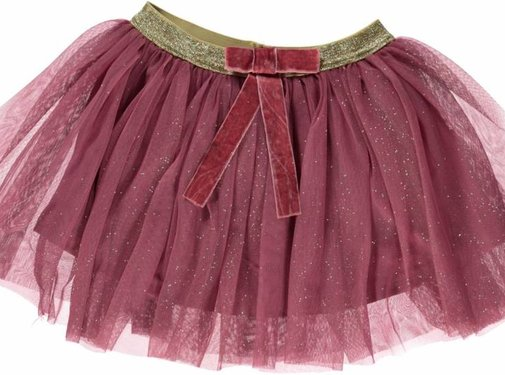 Smafolk Smafolk  Tulle skirt with bow Mesa Rose