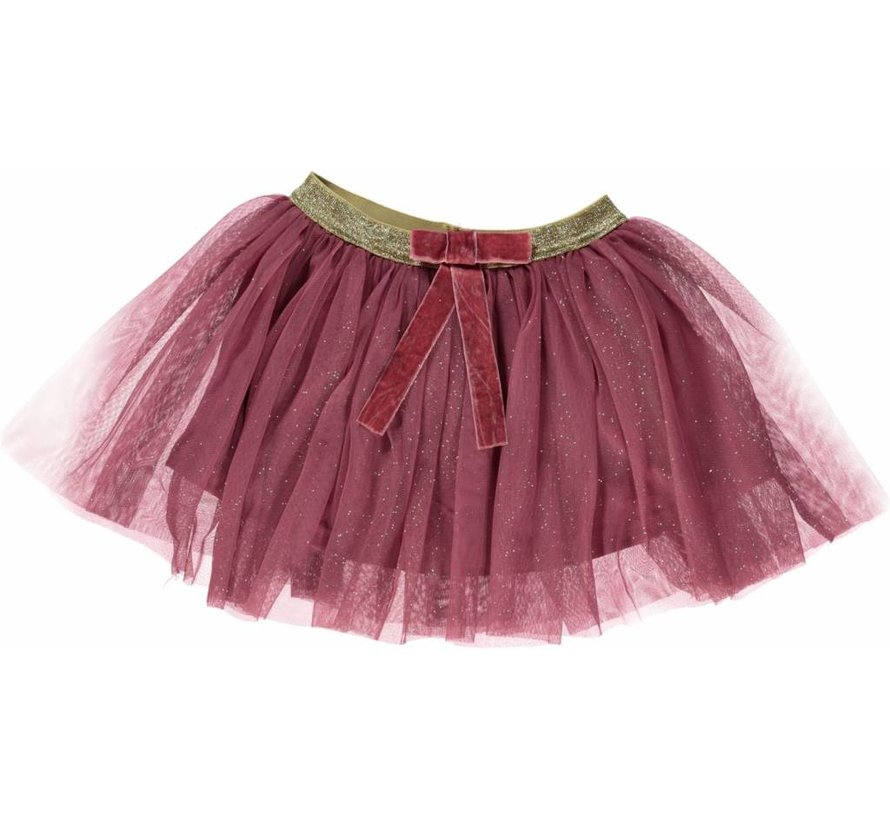 Smafolk  Tulle skirt with bow Mesa Rose