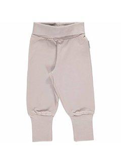 Maxomorra <h2>Maxomorra Pants Rib Grey</h2>