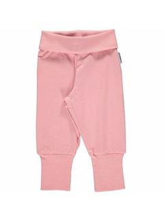 Maxomorra <h2>Maxomorra Pants Rib Pink</h2>