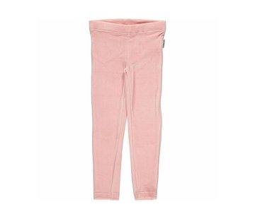 Maxomorra <h2>Maxomorra Leggings Velour Pink</h2>