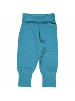 Maxomorra <h2>Maxomorra Pants Rib Blue</h2>